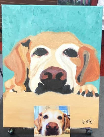 Paint Your Pet Portrait At Cheers N Paint November, 20, 2020 Cary, North Carolina