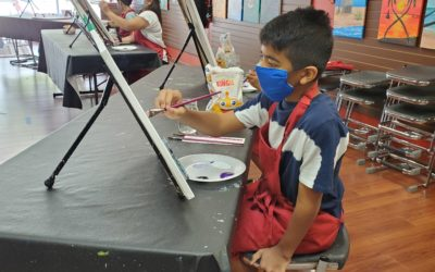 Make Your Summer Memorable with Cheers N Paint's Kids' Summer Art Camps!